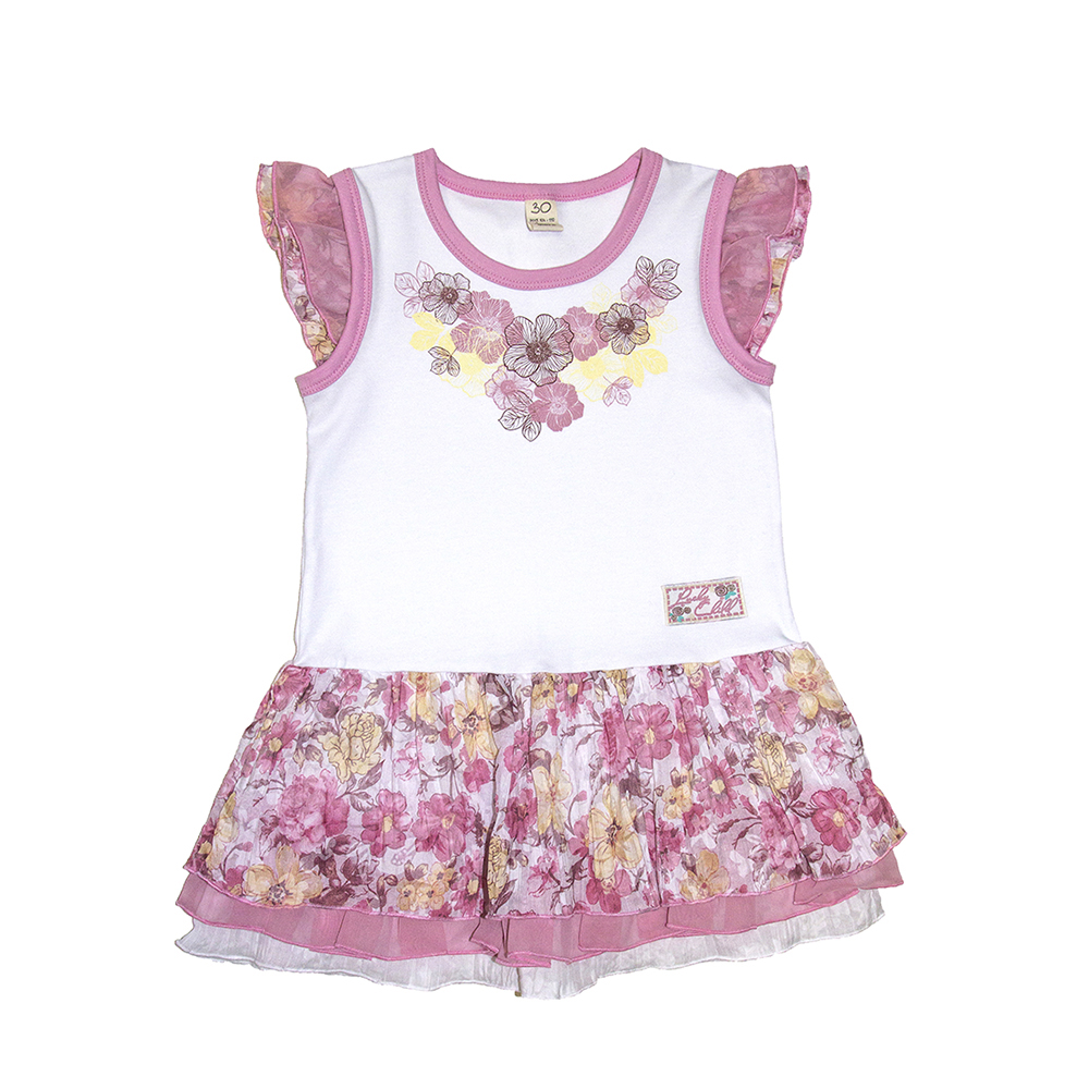 Dresses Lucky Child for girls 50-63 (18M) Dress Kids Sundress Baby clothing Children clothes summer dresses for girls cotton children clothing denim baby clothes floral sleeveless kids clothes girls princess dress 2 12t