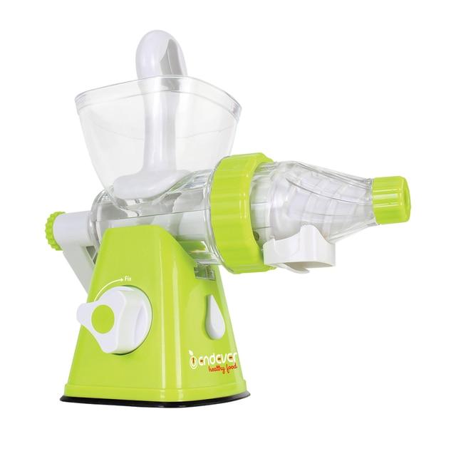 Соковыжималка механическая Endever Skyline HJ-007 (Ручная, легко разбирается и моется, корпус из высококачественного пищевого пластика)