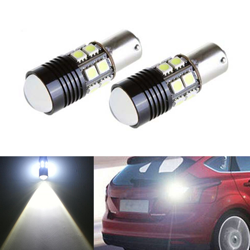 2X High Power 1156 P21W LED <font><b>Rear</b></font> Reversing Tail <font><b>Light</b></font> Bulb For <font><b>Volvo</b></font> v50 v60 v70 xc90 xc60 <font><b>s80</b></font> s40 c30 image