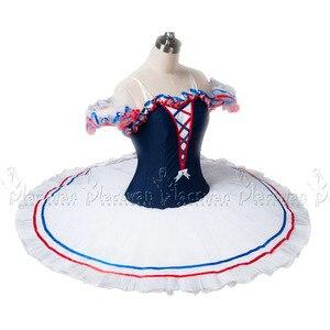 Image 2 - Chamas de paris traje branco ballet tutu profissional ballet tutu bt636 colombina traje competição feito sob encomenda tutu roupas