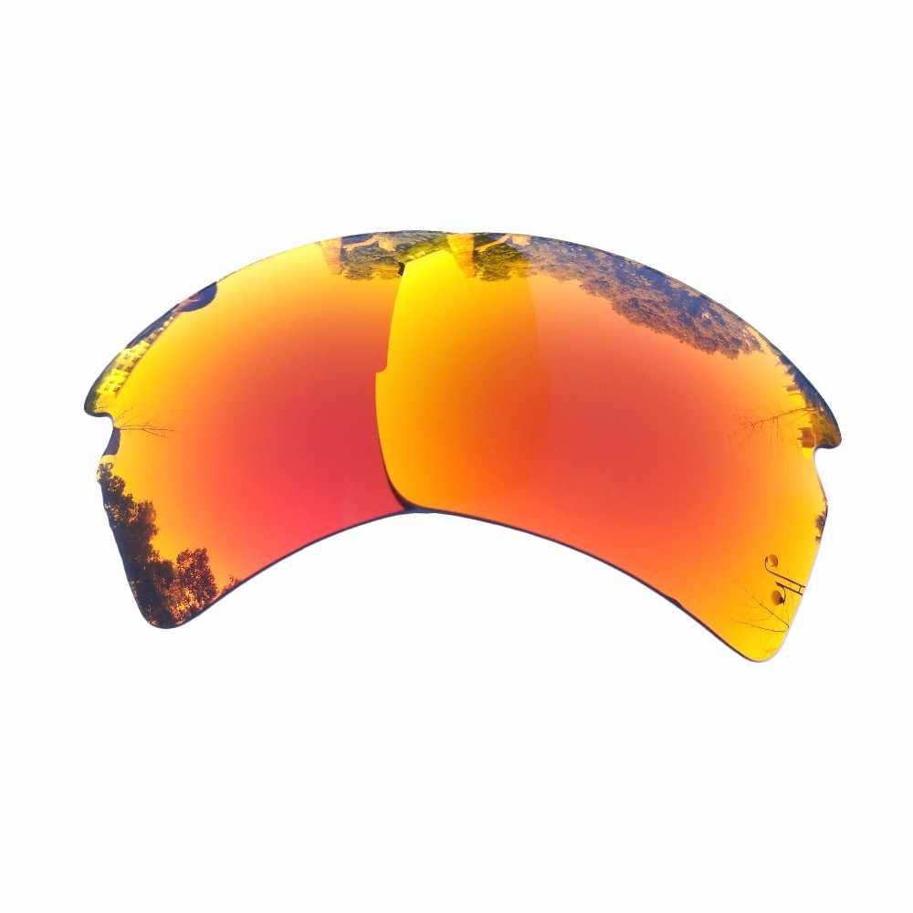 Lentes de repuesto polarizadas PAZZERBY para gafas de sol Flak 2,0 XL-múltiples opciones