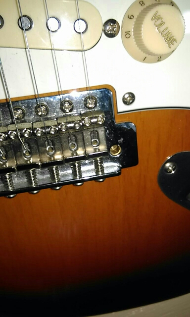 Brass Big Block Guitar Tremolo Bridge System-Mexico Fender,Squier