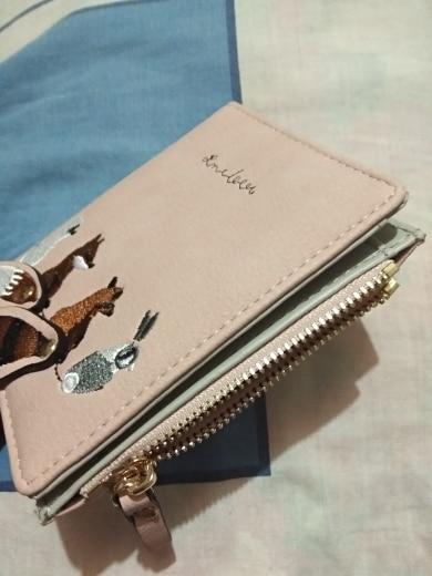 женщины бумажник; Сач; фиолетовый кошелек;