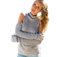 White Strapless Knitted Sweater Women Casual Cotton Streetwear Flare Sleeve Pullover Female Sexy Autumn Winter Jumper