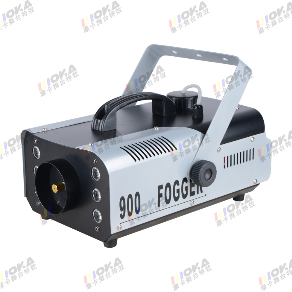 1 Pcs/lot chinese wholesaler 900w smoke machine led remote control fog machine stage dj effect smoke generator freeshipping sample 900w led smoke machine 30pcs 10mm bule leds smoke coverage 1000ft cu min fog oil tank capacity 1 5l remote