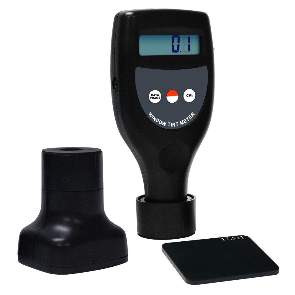 Wireless Window Tint Meter 0-100% Handheld Visible UV Infrared Light Transmittance Transmission Measuring Gauge Tester