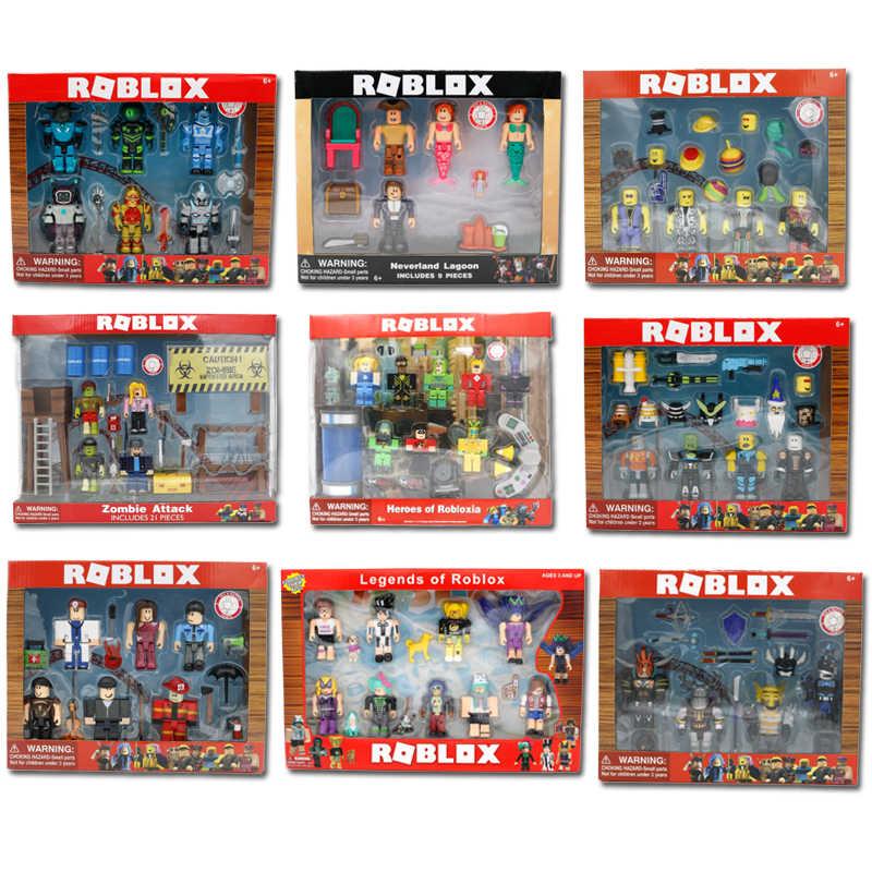 Estilo 9 Roblox Figura jugetes 2019 Roblox 7 centímetros Jogo PVC Figuras Meninos Brinquedos para roblox-jogo