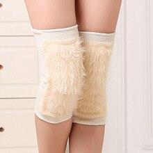 1Pair Winter Men Women Leg Warmers Elastic Wool Toppers Knee Pad Boot Cuffs beenwarmers polainas gaiters women boots