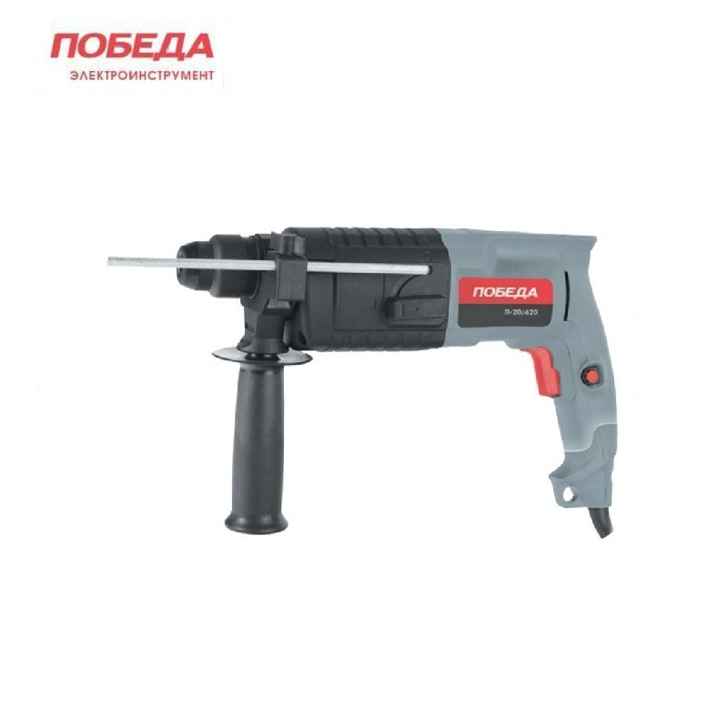 Hammer drill Pobeda P 20-620 Hole punching Rotary Tool Drilling holes Multifunctional hammer dual purpose electric hammer drill oasis pr 100 hole punching rotary tool drilling holes multifunctional hammer dual purpose