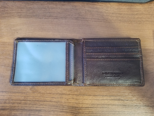 KAVIS Vintage koe lederen creditcardhouder kaartsleuven mannen visitekaartje portemonnee ID portemonnee voor creditcards mannelijke Mini photo review
