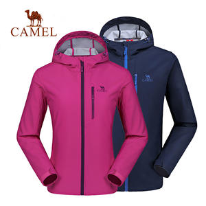 507606f542 CAMEL Men   Women Softshell Outdoor Jacket Windproof Waterproof Breathable  Thermal Outdoor Sport Camping Hiking Jacket