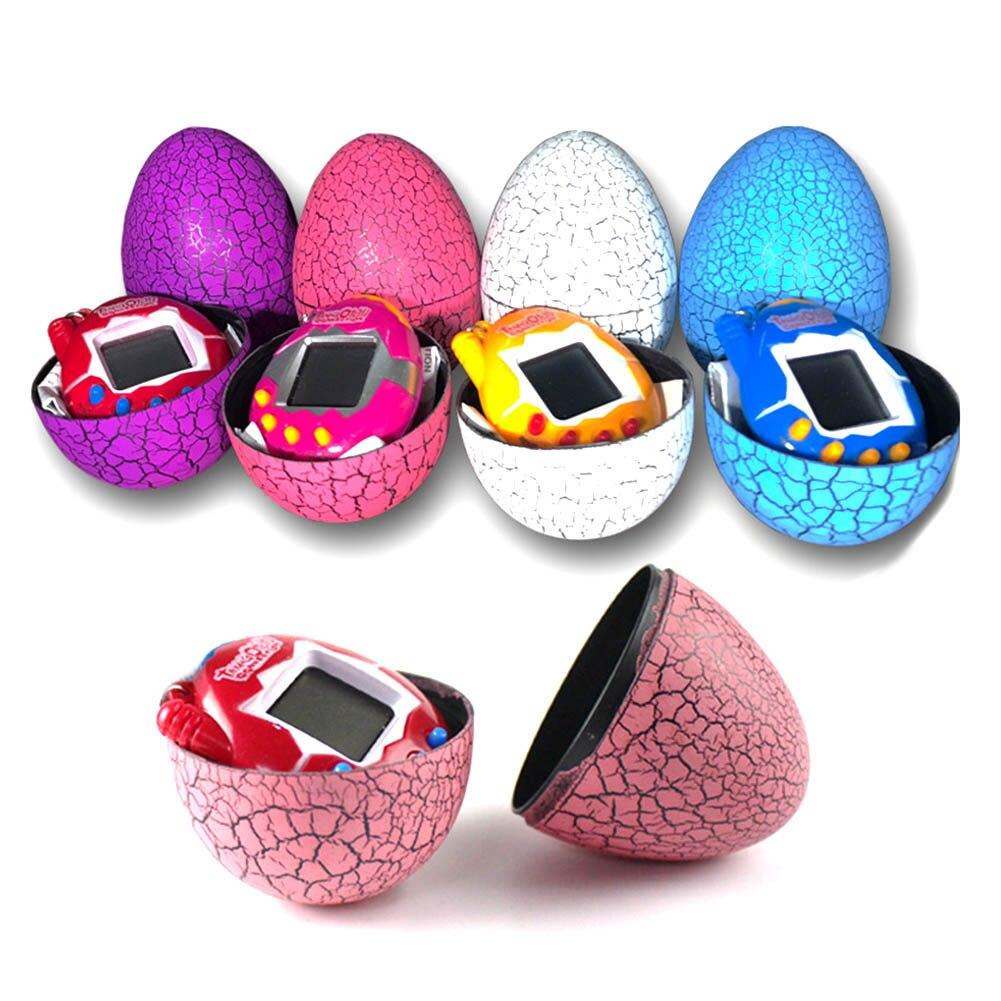 HOT SALE Electronic Virtual Pet Machine Crack Egg Tumbler Game Machine Tumbler Kids Handheld Game Machine Fancy toy