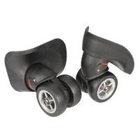 MTGATHER 1Pair 2Pcs Luggage 360 Degree Swivel Spinner Replacement Suitcase Caster Wheels Repair New Arrival