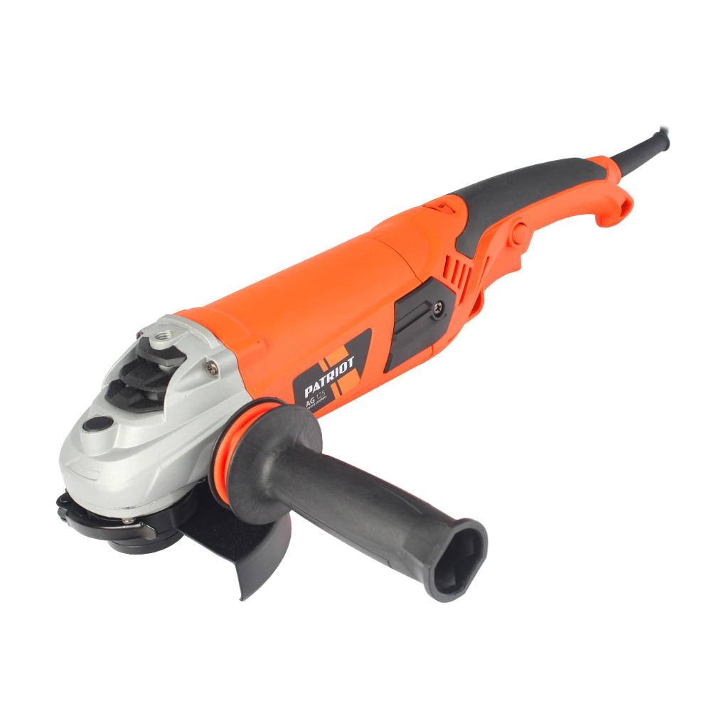Angle grinder PATRIOT AG 125 kalibr mshu 125 955 electric angle grinder polisher machine hand wheel grinder tool
