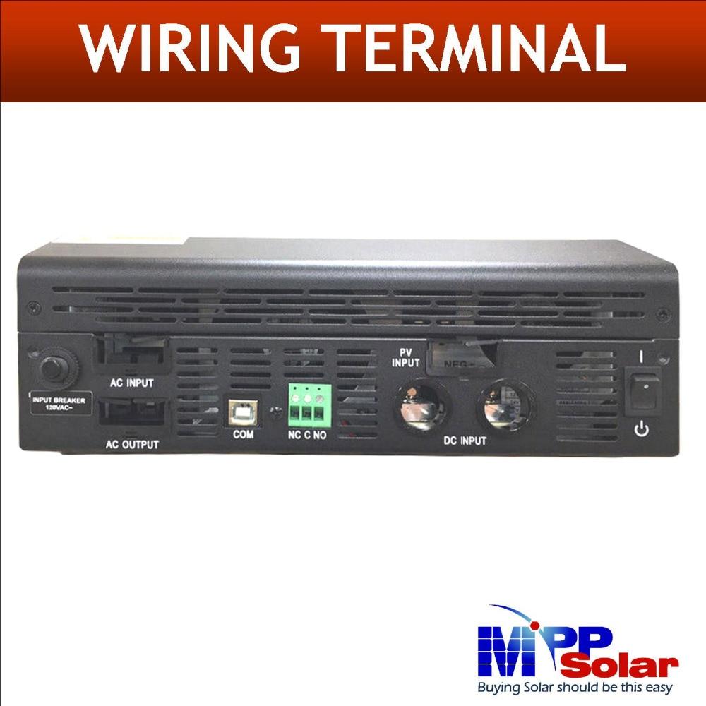 40 A Maximum Power Point Suivi Chargeur Solaire Batterie Chargeur 20 A 1000 W 12 V 110vac Solar inverter