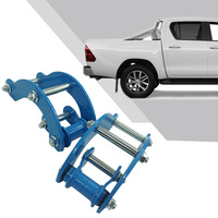 Rear Suspension Lift Up Kits for Toyota Hilux Vigo For Truck Masters 2004 2019 Coil Strut Shocks Absorber Spacers Spring Raise