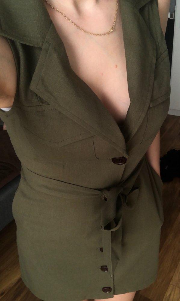 Elegant Short Blazer Women Dress Sexy Bow Belt Tie Solid Mini Dress Linen Button Beach Wrap Party Dresses Shirt Vestidos photo review