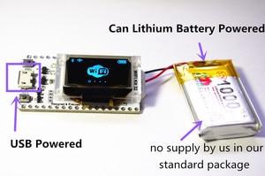 Image 3 - WIFI ESP32 פיתוח לוח 0.96 אינץ כחול OLED תצוגת Bluetooth אינטרנט של דברים לarduino עם גוף קירור