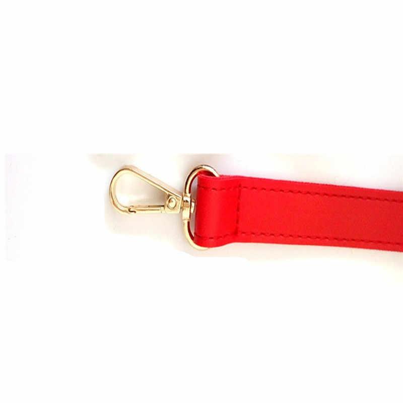 Osmond 130 см ремни для сумок из искусственной кожи ремни на плечо Сменный ремень для женской сумки аксессуары сумки запчасти регулируемый ремень Золотая пряжка