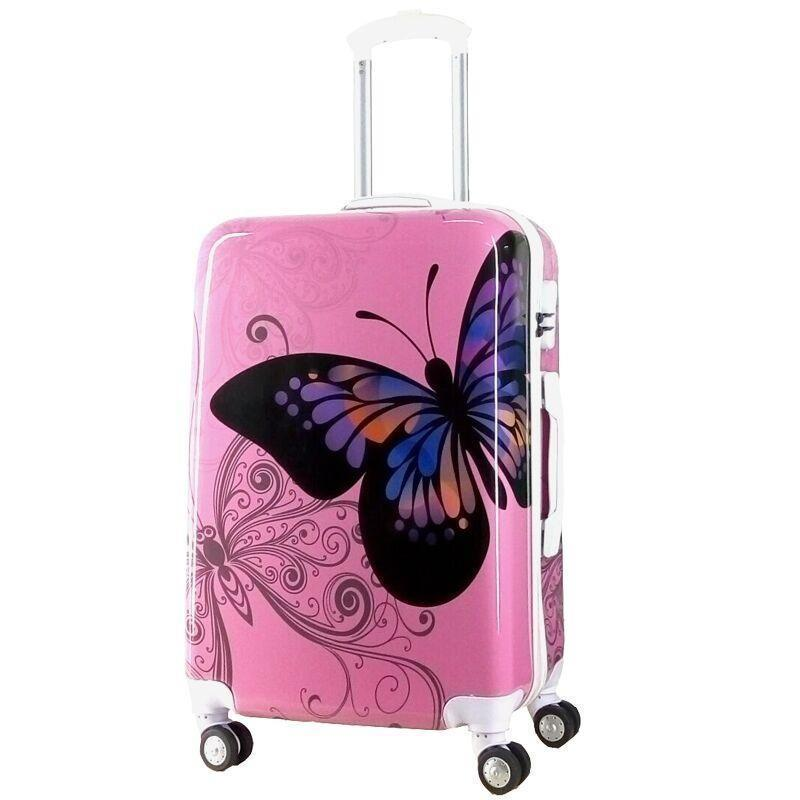 Travel Bagages Roulettes Valise Cabine Trolley Bag Colorful Valiz Mala Viagem Maleta Koffer Luggage Suitcase 20
