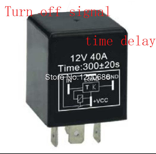 цена на 5 minutes delay off after switch turn off Automotive 12V Time Delay Relay SPDT 300 second delay release off relay