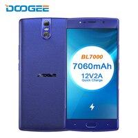 DOOGEE BL7000 4G Dual Sim смартфон 5,5 FHD 7060 мАч Быстрая зарядка 4G 64 Гб Восьмиядерный Android 7,0 мобильный телефон отпечаток пальца 13 МП