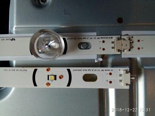 """LED Backlight strip 8 Lamp For LG 42 inch TV INNOTEK DRT 3.0 42"""" 6916L 1709B 1710B 1957E 1956E 6916L-1956A 6916L-1957A 42LB561v"""