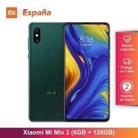 [Global Version for Spain] Xiaomi Mi Mix 3 (Memoria interna de 6GB, ROM de 128GB, Full screen de 6,39) Movil