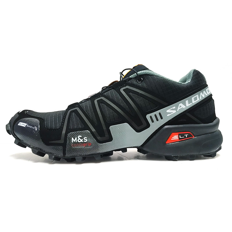 621c96dc5fd7 Salomon Men Shoes Speed Cross 3 CS Sneakers Man Black Cross-country Running  Shoes Male Athletic Shoes Sport shoes 40-46