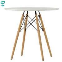 94923 Barneo T-8 MDF Innen Abendessen Tisch Bar Tisch Küche Möbel Esstisch weiß kostenloser versand in Russland