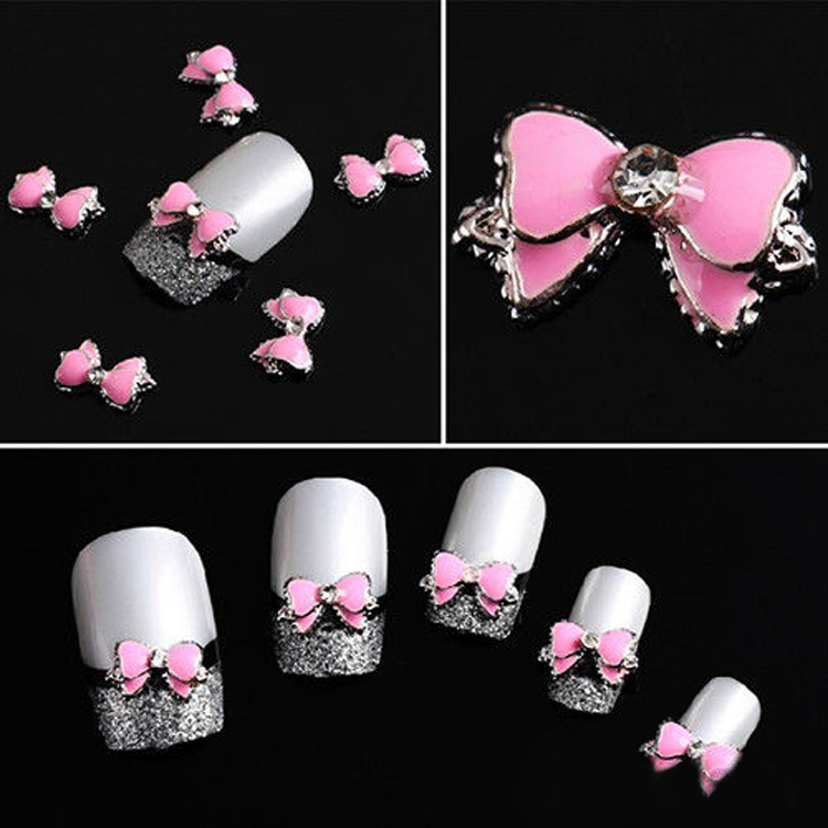 Buy 3d bows nail art and get free shipping on aliexpress prinsesfo Image collections