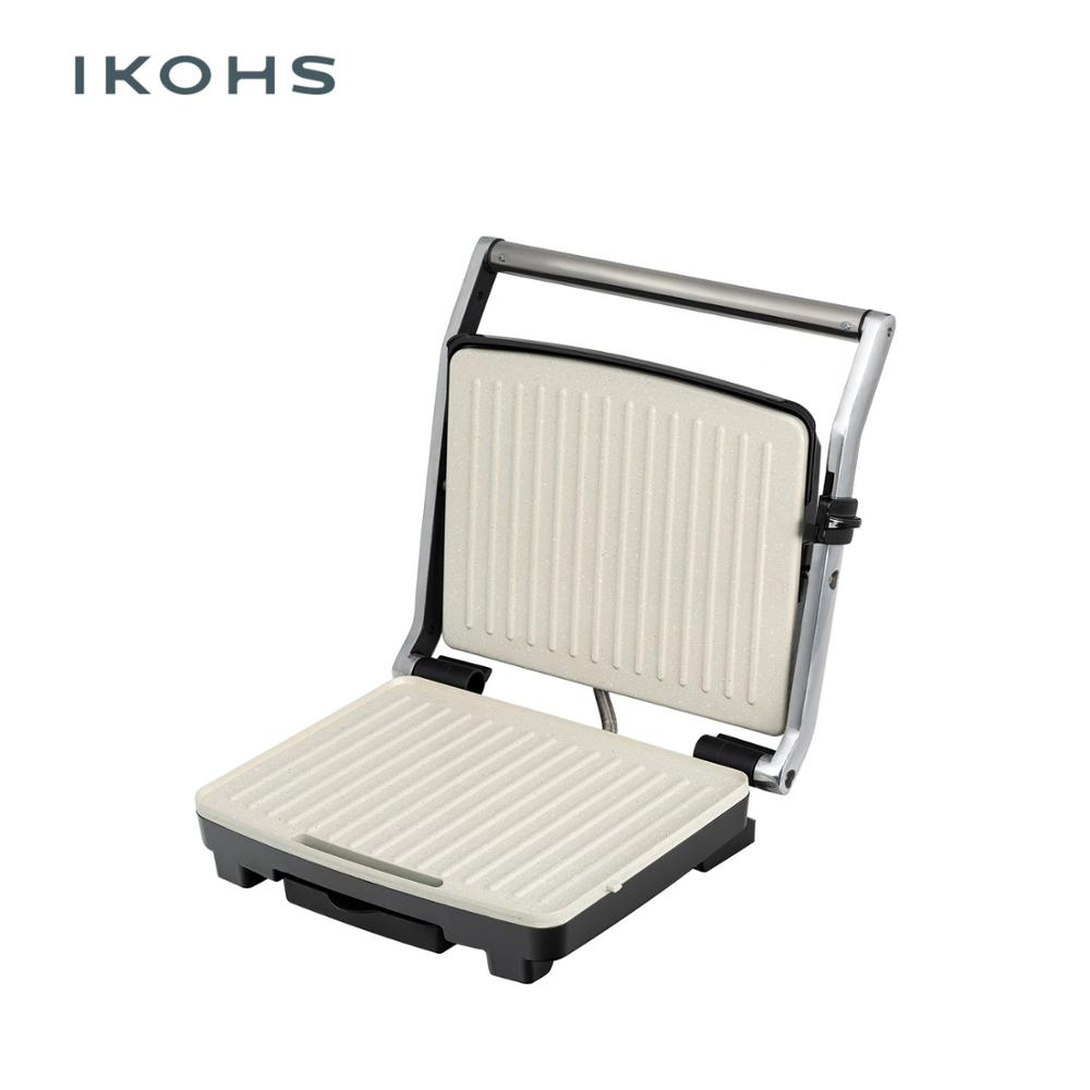 IKOHS 2000 Sandwich maker meat and vegetables grill 2000W easy cooking
