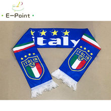 1f03a64103a492 145*16 cm Size Italy National Football Team Scarf for Fans Russia 2018  Football World Cup Double-faced Velvet Material