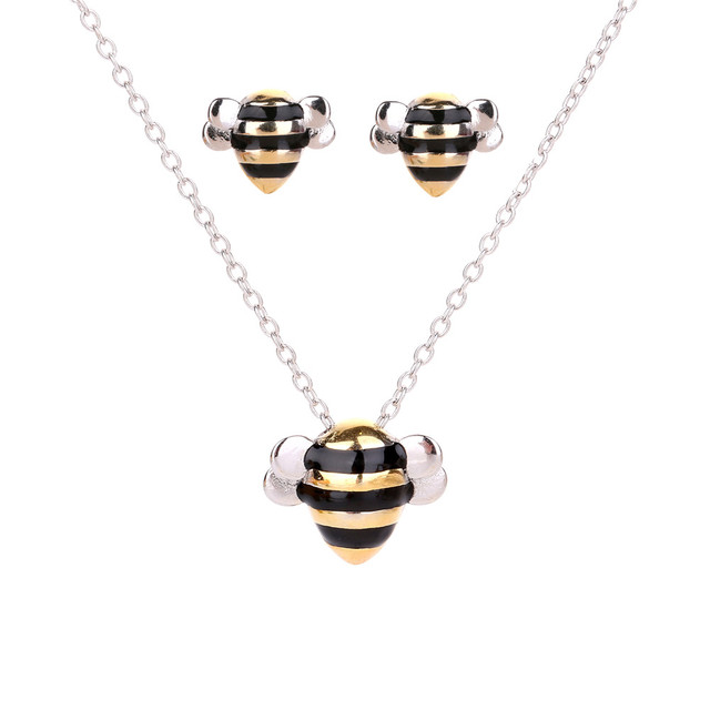 Lureme Sterling Silver Bees...