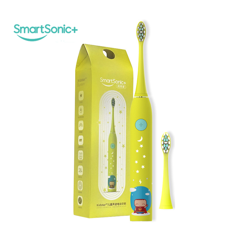 Rechargeable Sonic Electric Toothbrush Kids USB Charger Power Teeth cleaning whitening Tooth Brush Dupont Toothbrush Heads Case pro teeth whitening oral irrigator electric teeth cleaning machine irrigador dental water flosser teeth care tools m2