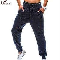 2017 New Fashion Men Pants SportsRunning Sweatpants SoccerPrinting Casual Trouser Jogger Bodybuilding Fitness Sweat Pants K03