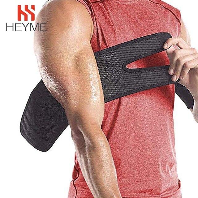 HEYME 1 Pair Neoprene Arm Trimmers Slimming Sauna Sweat for Women Men Weight Loss Arm Shaper Muscle Slim Belt Fat Burning 2