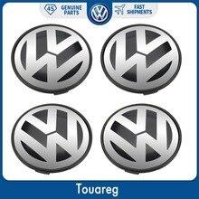 4 шт. колпак ступицы центра колеса крышка 77 мм для Volkswagen VW Touareg 2003-2010 7L6 601 149 RVC