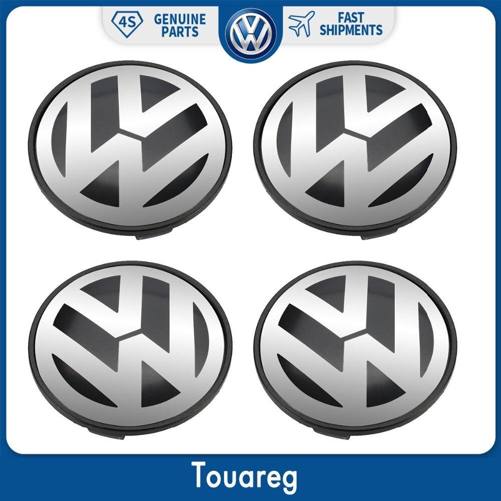 4pcs Wheel Center Cap Hub Cover 77mm For Volkswagen VW Touareg 2003-2010 7L6 601 149 RVC volkswagen logo center cap covers