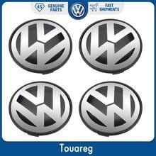 4 шт. 77 мм колпак ступицы центра колеса крышка Эмблема для Volkswagen VW Touareg 2003-2010 7L6 601 149 RVC