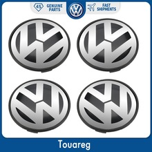цена на 4pcs Wheel Center Cap Hub Cover 77mm For Volkswagen VW Touareg 2003-2010 7L6 601 149 RVC