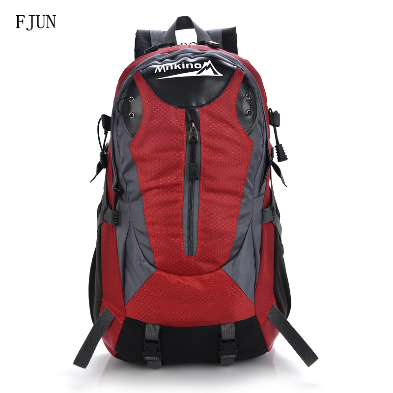 2018 FJUN 40L Outdoor Sport Bags Waterproof Nylon Hiking Backpacks Mountaineering Travel Bag Camping Backpack For Men Women