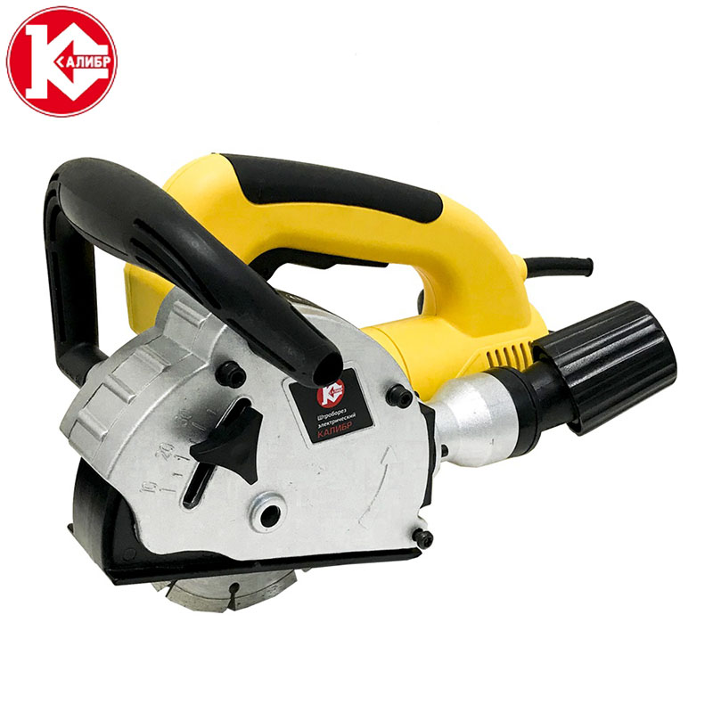 Kalibr SHTBE-1500/125M Electric Wall Chaser Groove Steel Concrete Cutting Slotting Machine