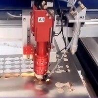 China Manufacturer 4 8 Feet Double Heads Dual Function Laser Metal Cutting Machine Woo Acrylic Glass