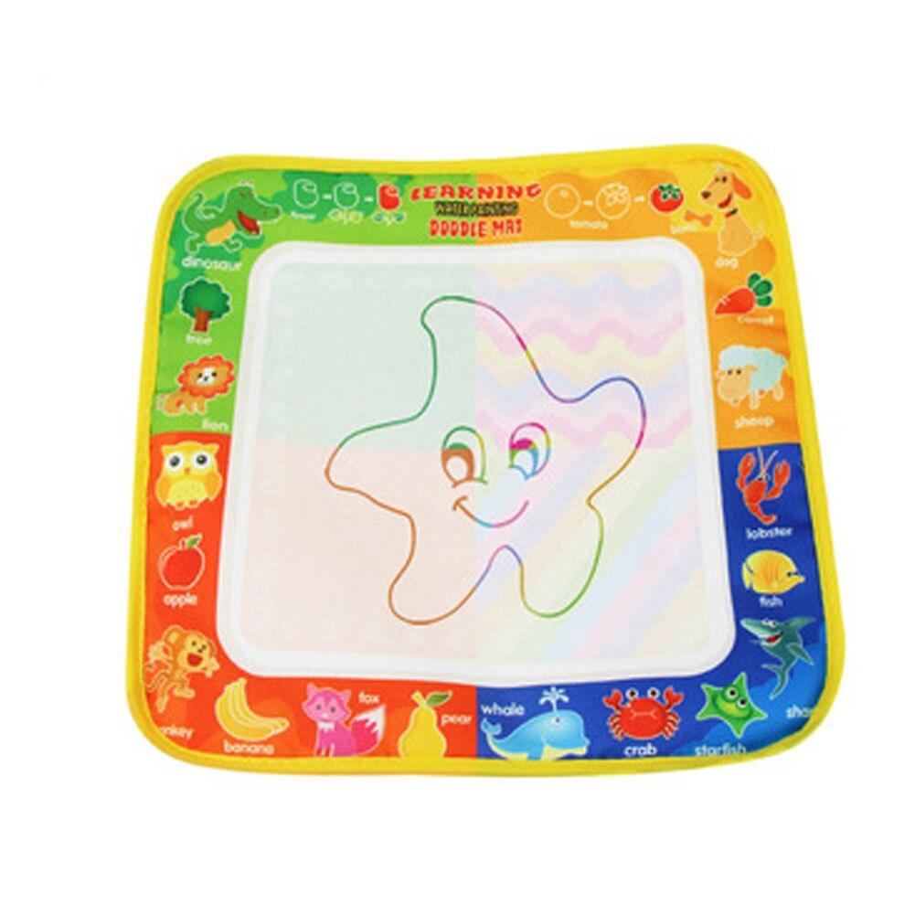 1 шт. волшебный Рисунок воды коврики с волшебной ручки ребенка Чертёжные доски дети граффити раннее образование Игрушечные лошадки подарок