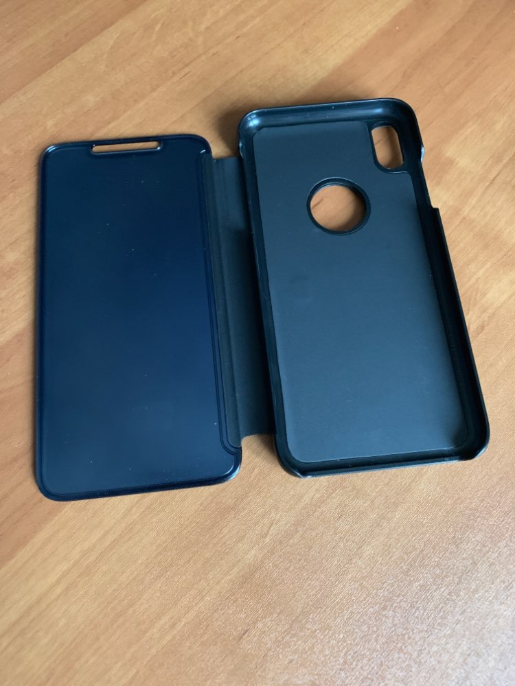 Funda Flip Cover Espejo para iPhone photo review