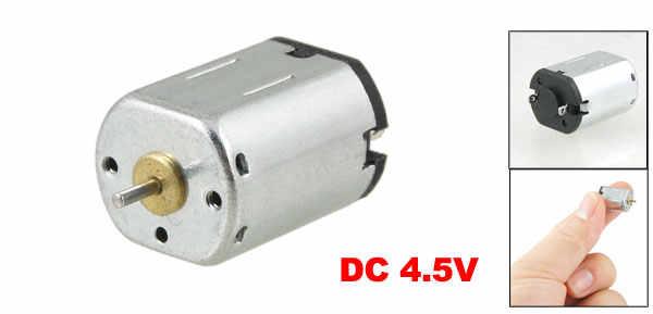 UXCELL Mini moteur magnétique 4.5 V 18000 tr/min pour jouet électronique 4.5 v | dc