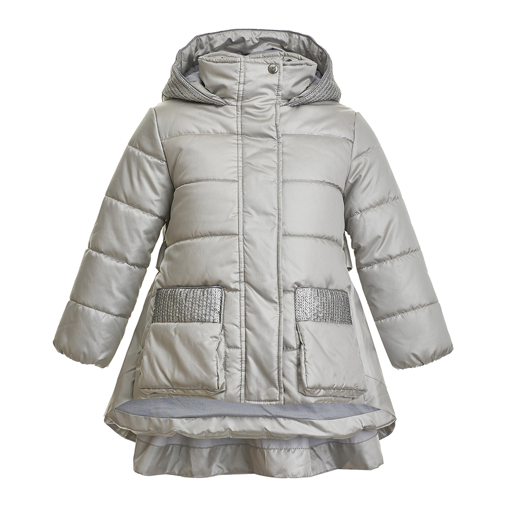 Jackets & Coats Gulliver for girls 21802GMC4103 Jacket Coat Denim Cardigan Warm Children clothes Kids biboymall winter coat 2017 military coats women cotton wadded hooded jacket casual parkas thickness plus size snow outwear