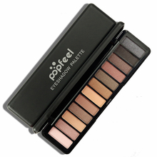 12 Colors Eye Shadow Cosmetic Long Professional Makeup Glitter Eye Shadow Palette Natural