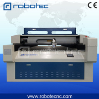 Robotec high power Yongli laser tube 280W 300W Laser Cutter For 2mm stainless steel metal laser cutting machine
